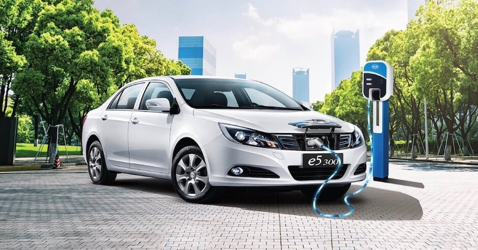 Chinese electric car BYD