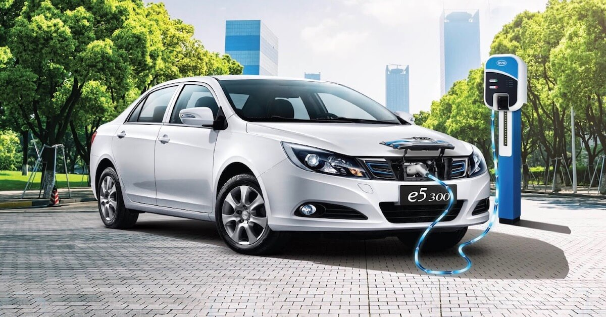 BYD e5 300 charging