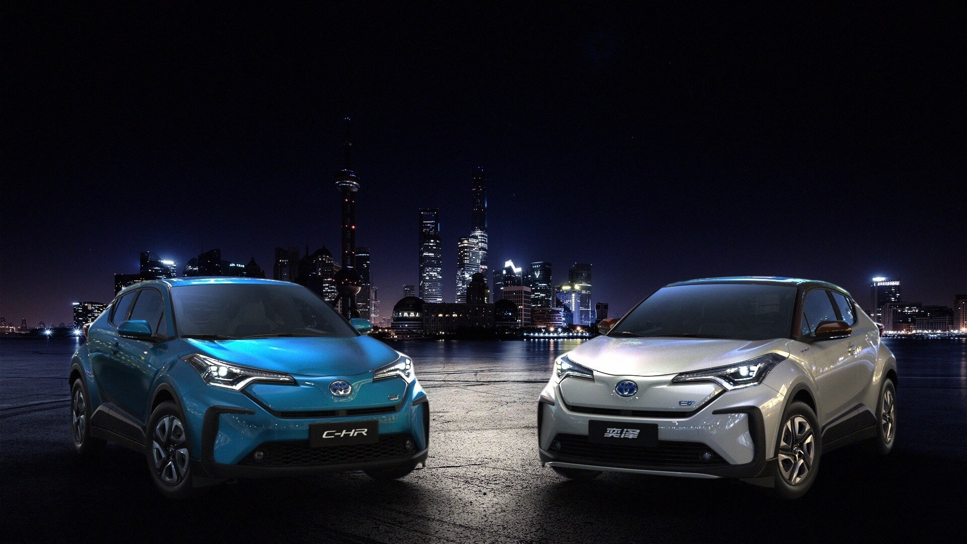 Electric Toyota C-HR vs Izoa