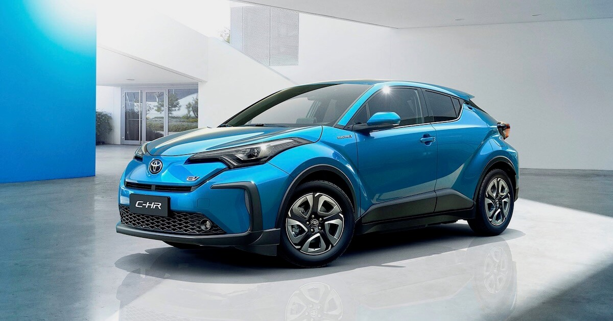 electric Toyota C-HR