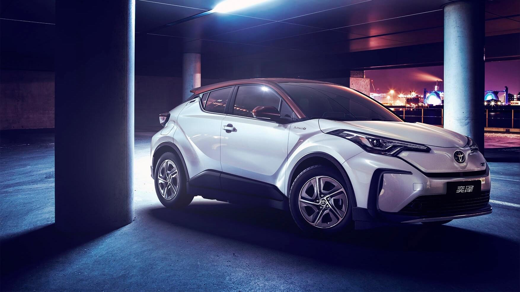 electrical Toyota C-HR